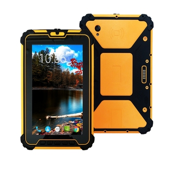 8 inch Android 7.1 Rugged Tablet PC with 8core CPU RAM 4GB ROM 64GB 400 NITS brightness H1920 V1200 resolution Free Shipping