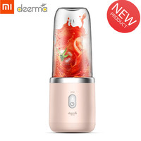 Xiaomi Deerma Portable Blender Electric Juicer 400ML Wireless Automatic Multipurpose USB Rechargable Mini Juice Cup Cut Mixer