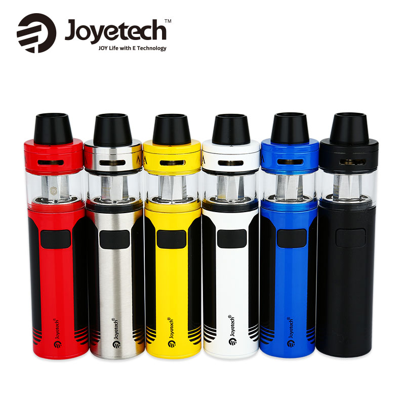 цена на Joyetech CuAIO D22 Starter Kit Built-in 1500mAh Battery 3.5ml/2ml Capacity Tank E Cig Vape Vs Ego Aio D22 Kit Original Cigarette