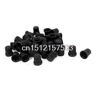 36 Pcs Plastic Rotary Potentiometer Pointer Knob Cap for 6mm Dia Knurled Shaft wide 38mmx the high 23mm potentiometer knob cap bore 6mm d type axle