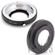 Anillo adaptador de montaje traje para Voigtlander Retina lente DKL a cámara Nikon D810A D7200 D5500 D750 D810 D5300 D3300 Df D610 D7100