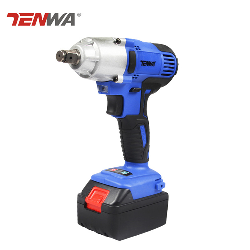 Tenwa 20V Cordless Electrical Wrench Max Torque 150NM Cordless Wrench Rechargeable lithium battery brush wrench Cordless Drill цена