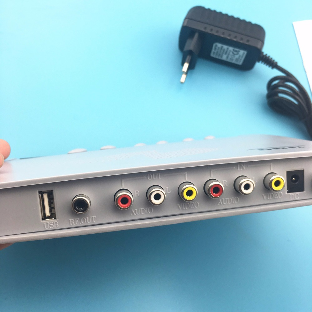 tv tuner box RF TO AV converter Analog TV signal to RCA ys2848 The ...