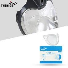 цены THENICE  Full Face Snorkeling Mask Snorkeling Detachable Myopia Lens  Snorkeling Mask Lens Diving Equipment K2100