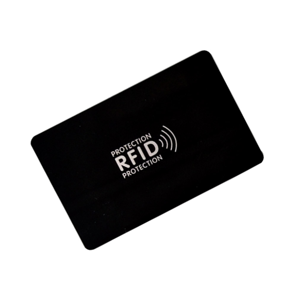 1 шт./лот RFID-защита от кражи, NFC-защита информации, защита от кражи, защитная карта, Подарочный защитный модуль, блокировка карты от кражи