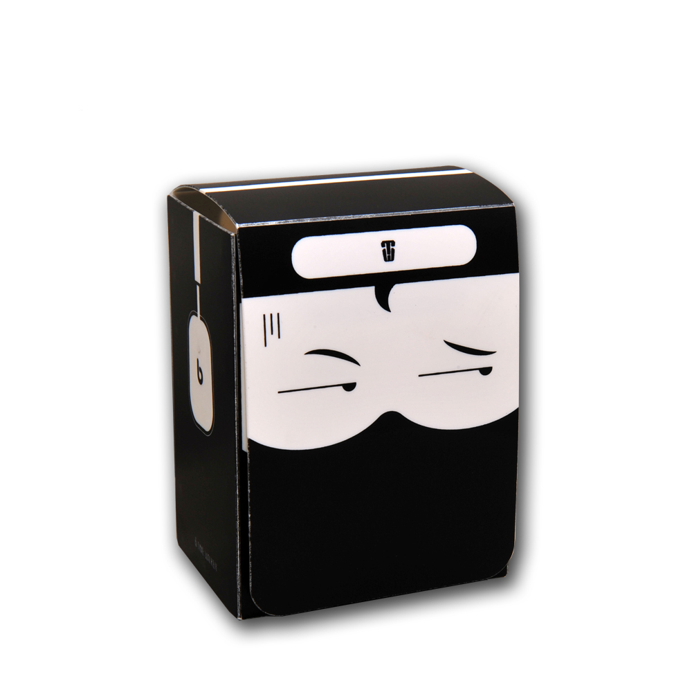 Cool Ninja Time Walker Board Games Cards Deck Box For Magic Game/Poke/Yugioh / MGT,CAN Hold 80-100 cards(China)