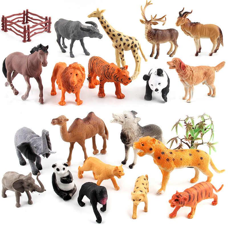 Paquete De 6 animales de granja