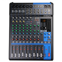 Audio mixing console MG12xu analog mixer 12 road small stage professional audio console band commercial speech
