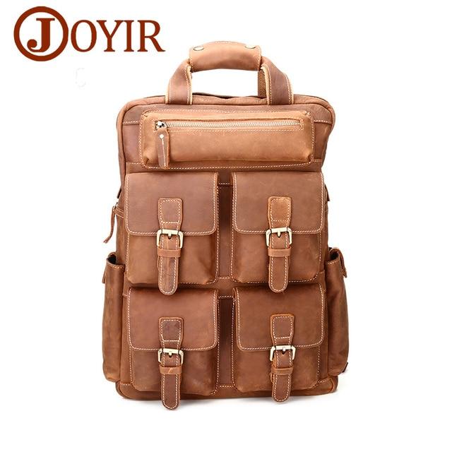 5b1d871da5c4 JOYIR рюкзак мужской кожаный рюкзак рюкзак кожа рюкзаки для подростков  рюкзаки сумка мужская рюкзак натуральная кожа