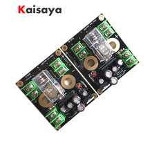 2pcs UPC1237 LM7812 16A 1200W AC12V 18V HiFi amplifier speaker protection assembled board A2 010
