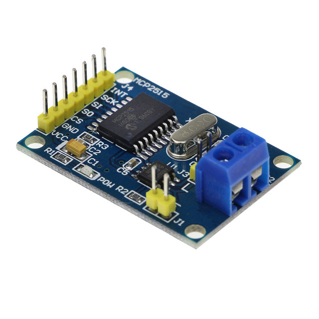 Умная электроника MCP2515 CAN Bus модуль TJA1050 приемник SPI модуль для arduino Diy Kit