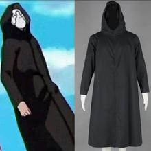 Free Shipping Naruto Shippuden Anbu Black Cloak Anime Cosplay Costume