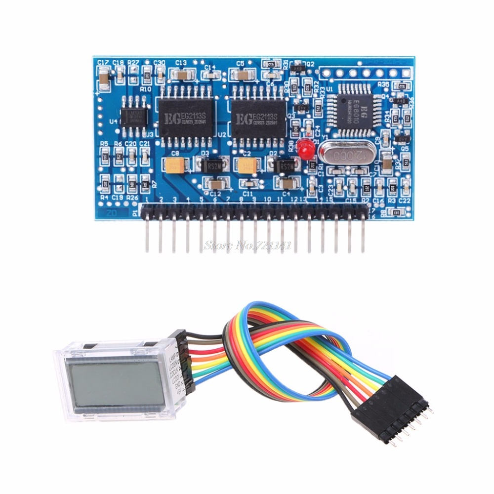Pure Sine Wave Inverter Driver Board EGS002 EG8010 + IR2110 Driver+LCD  Module Integrated Circuits