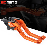 High quality Motorcycle CNC 5D Brake Clutch Levers For KTM DUKE 390 250 200 125 2014 2015 2016 2017 2018 2019 With logo DUKE