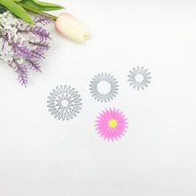Julyarts 4Pcs Metal Cutting Flower Dies New 2019 Stencils For DIY Scrapbooking Embossing Card Making Craft Die Cut Stitch