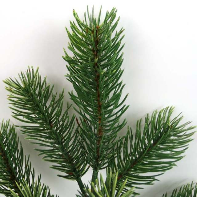 Artificial Christmas Tree Branches.Us 2 61 41 Off Plastic Pine Branch Artificial Christmas Tree Branches Decoration For Home Green Artificial Plants Party Garden Shop Decor In