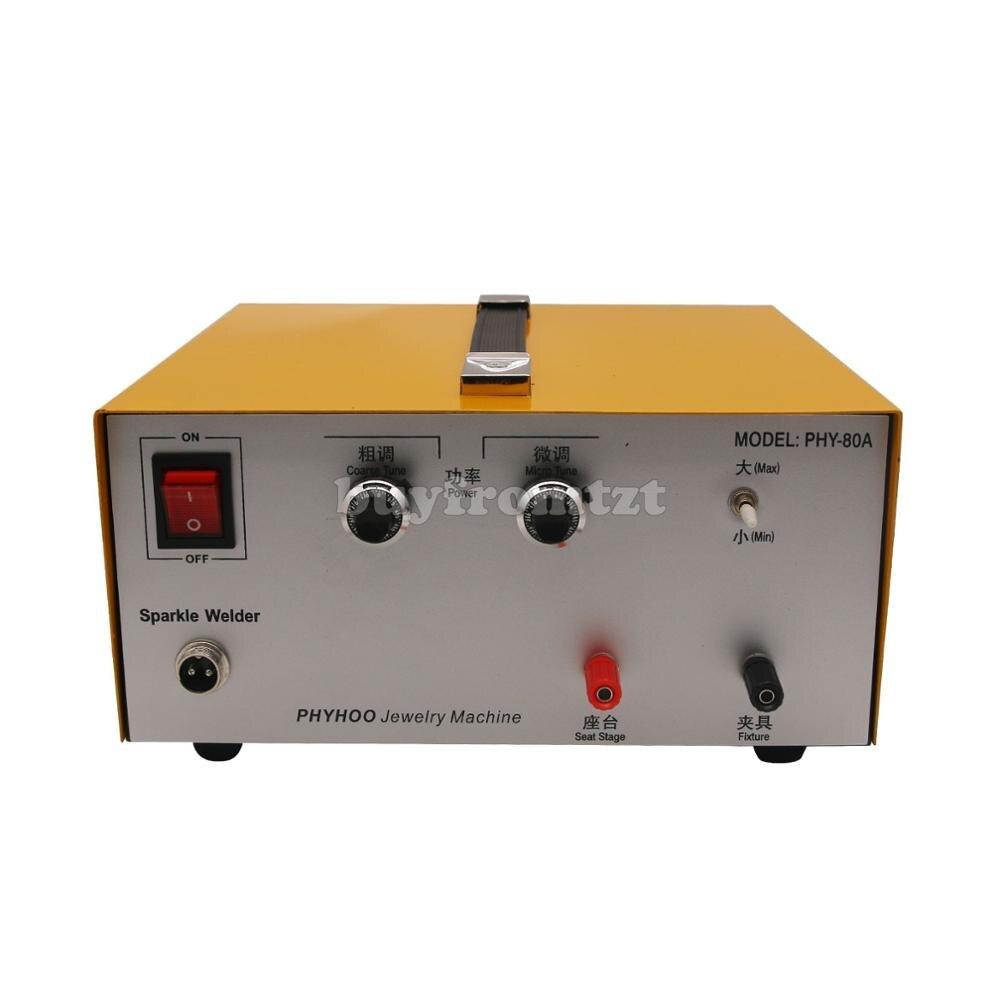USA STOCK Pulse Sparkle Spot Welder 110V//220V Electric Jewelry Welding Machine