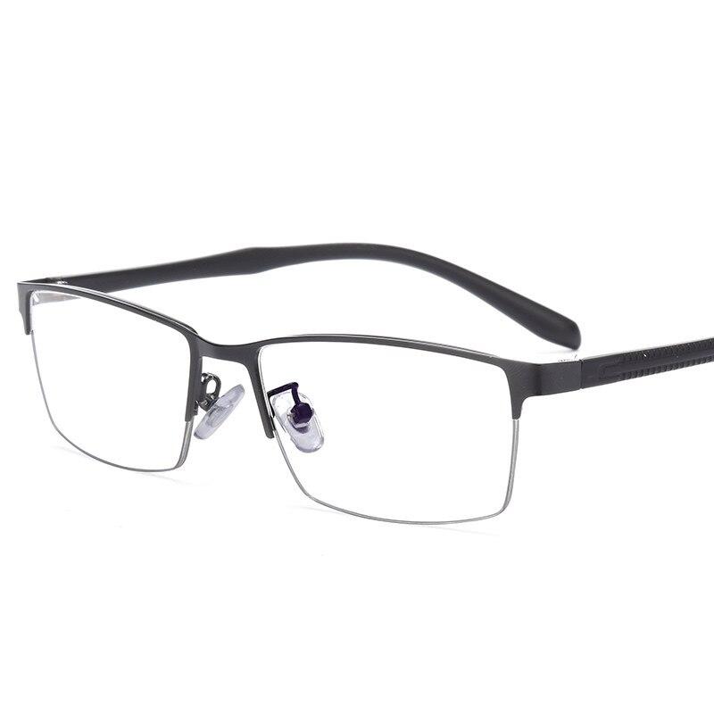 Sturdy Glasses Men Wide Face Prescription Eyeglasses Full Rim Optical Frame Business Eye Glasses Light Big Frame 807 in Men 39 s Eyewear Frames from Apparel Accessories