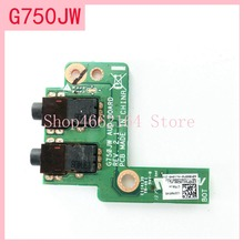For Asus ROG G750 G750JX G750JH G750JM G750J G750JW G750JS G750JZ DC Power Jack Board Socket  Switch Button