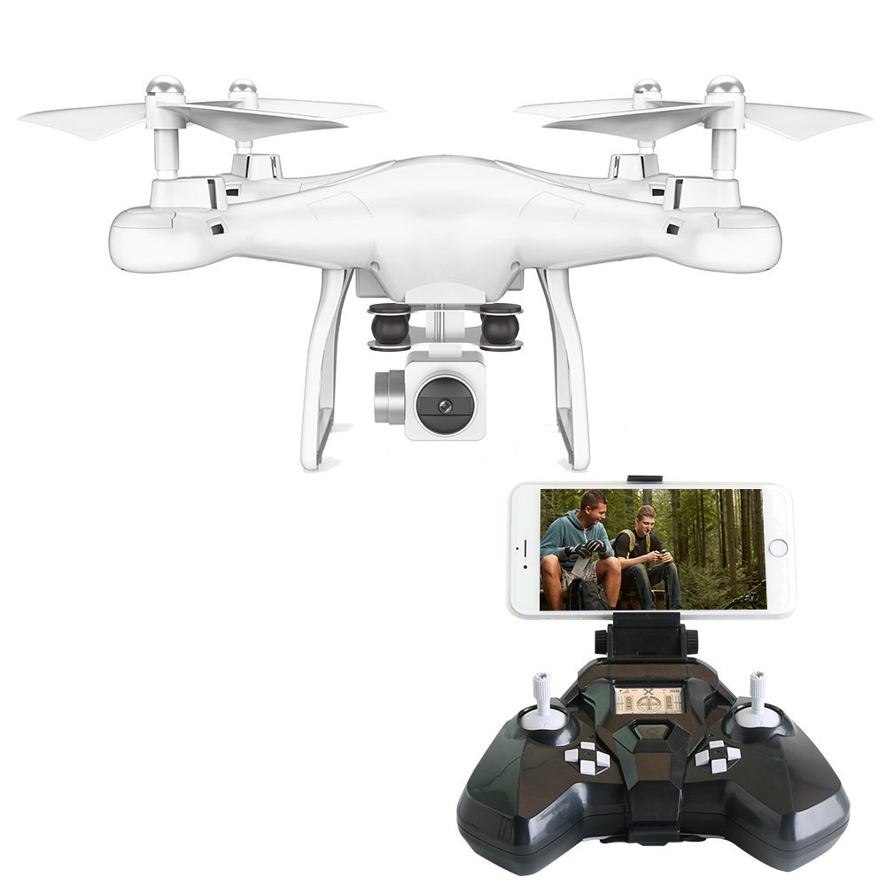 RC Drone FPV VR Wifi 2.4GHz 6-Axis Gyro LED Lights Drones With 2MP HD Wide Angle Lens Camera Drones Hold Altitude RC Helicopter 360 degree 170 wide angle lens sh5hd drones with camera hd quadcopter rc drone wifi fpv helicopter hover flip live video photo
