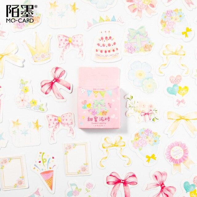 Милая наклейка с кошкой милый дневник ручной работы клейкая бумага хлопья Япония винтажная коробка мини-наклейка Скрапбукинг пуля журнал канцелярские товары - Цвет: 9