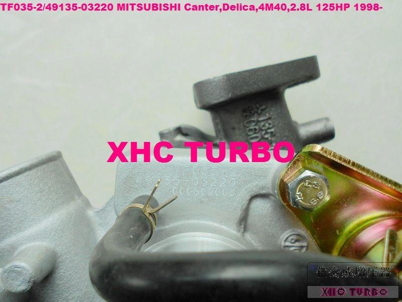 NEU TF035 49135-03220 03300 Turbolader für MITSUBISHI Canter, - Autoteile - Foto 2