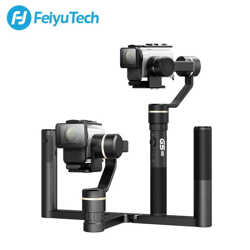 FeiyuTech G5GS Stabilizer Tripod Action Camera Gimbal for Sony Action Camera X3000 X3000R Dynamic Time laps