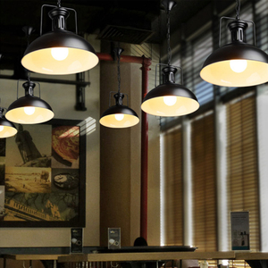 Image 3 - Vintage pendant lights industrial Loft lamp E27 Nordic Restaurant Kitchen light Night Light lamp Loft bar Living room lamp