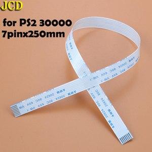 Image 3 - JCD 2 قطعة شحن لوحة دارات مطبوعة والطاقة التبديل الكابلات المرنة ل PS3 سليم PS2 10pin 12pin 14pin الشريط الكابلات المرنة ل PS4