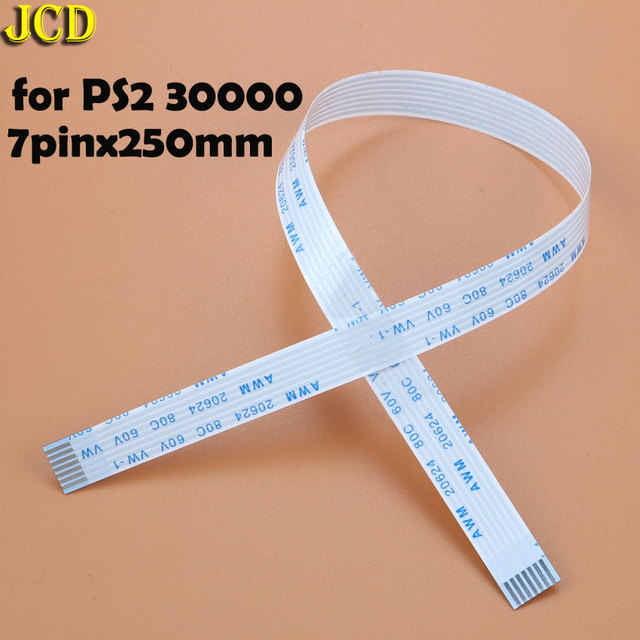 JCD 2pcs Charging PCB Board and Power switch Flex Cable For PS3 slim PS2 10pin 12pin 14pin Ribbon Flex Cable for PS4 2