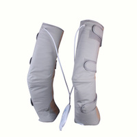 Infrared Therapy Heated Vibrating Slimming Leg Massager Promote Blood Circulation Pain Relief Knee Health Care
