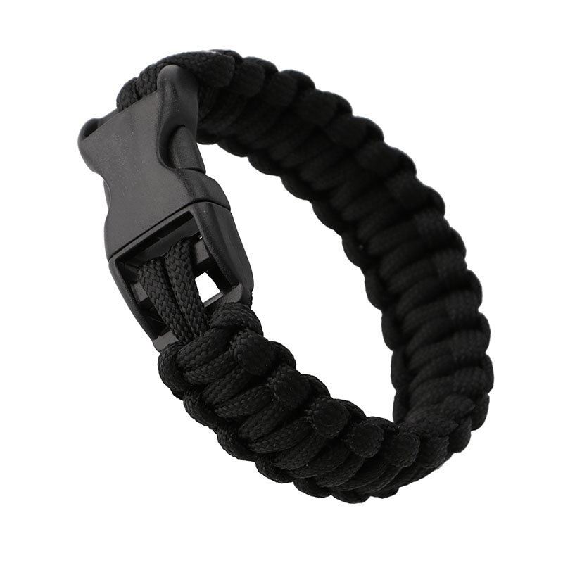 Adults Pocket Durable Military Emergency Survival Bracelet Rope Charm Bracelets Outdoor Sports Safety Security Self-defense Tool