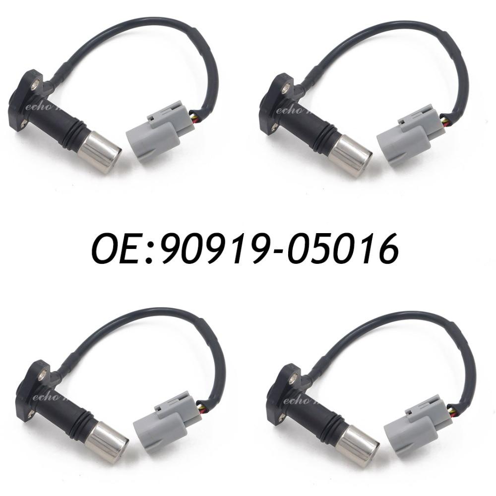 4PCS 90919-05016 Crank Crankshaft Position Sensor For Toyota 4runner T100 Tacoma 2.7L 2.4L l4 9091905016,029600-0273,0296000273 new 4pcs crank crankshaft