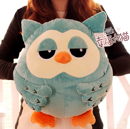 Super cute 1pc 45cm Korean TV series The Heirs owl plush hold doll warm home decoration stuffed toy children baby girl gift gift for kids 1pc 45cm funny expression crayon shin chan cute plush hold doll pillow cushion novelty children stuffed toy