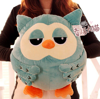 Super cute 1pc 45cm Korean TV series The Heirs owl plush hold doll warm home decoration stuffed toy children baby girl gift