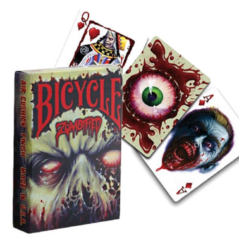 Carte Bicycle Zombie