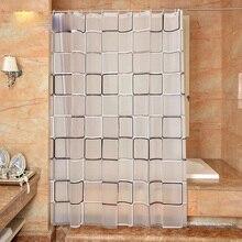 Ванной занавеска для душа клетчатый PEVA окружающей двери туалета занавес занавеска для душа s Водонепроницаемый и плесень утолщение
