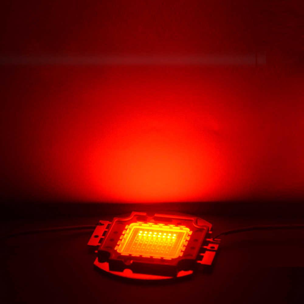 1 W 3 W 10 W 20 W 30 W 50 W 100 W מתח גבוה הוביל קלח אור Led שבבי עבור הארת מנורת Led זרקור לבן/אדום/ירוק/כחול/RGB