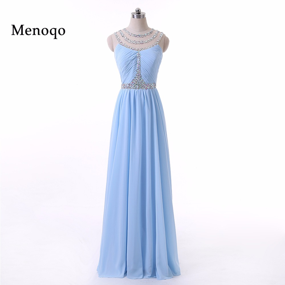 Bling Hot Sale   Prom     Dresses   robe de bal Sleeveless vestidos de formatura Sequined Sexy Chiffon Formal Evening Party Gowns
