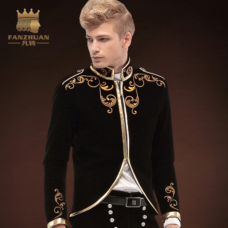 Здесь продается  FANZHUAN Brands Gothic Clothing Men suit Made Mens Suit Prom Suits New Arrivals Party tuxedos Wedding Suits Jacket Stage Winds   Одежда и аксессуары