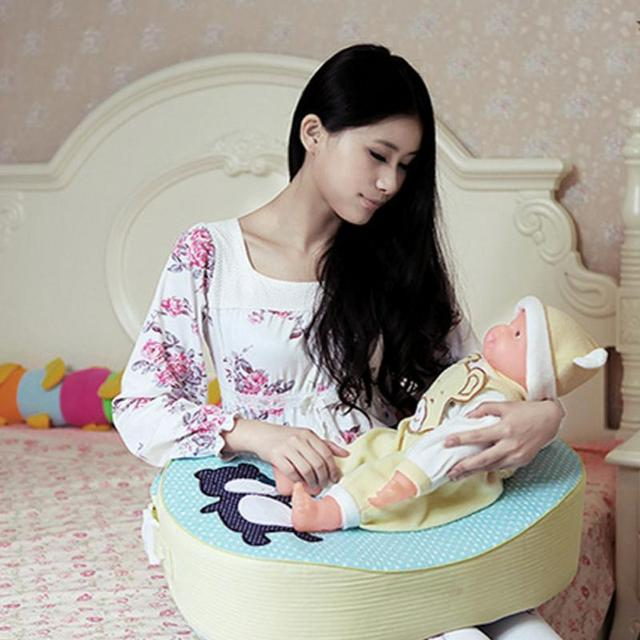 Circundando destacável Pillow Enfermagem Macio Infantil Do Bebê Amamentação Travesseiro Apoio Travesseiro Almofada Bebê Engatinhando Aprendendo Sentado Almofada
