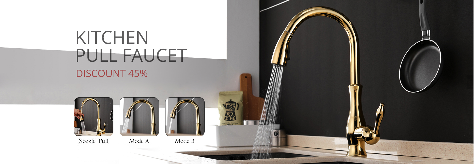 2019 senducs led pull down kitchen faucet with quality brass pull rh dhgate com