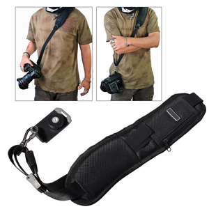 Image 1 - Hoge Kwaliteit Tracking Nummer + Camera Strap Black Rapid Camera Strap Voor Slr Dslr Canon Nikon Sony Camera