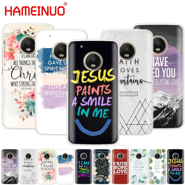 Christian Inspiration Bible Quotes Verse Jesus Case Cover For For
