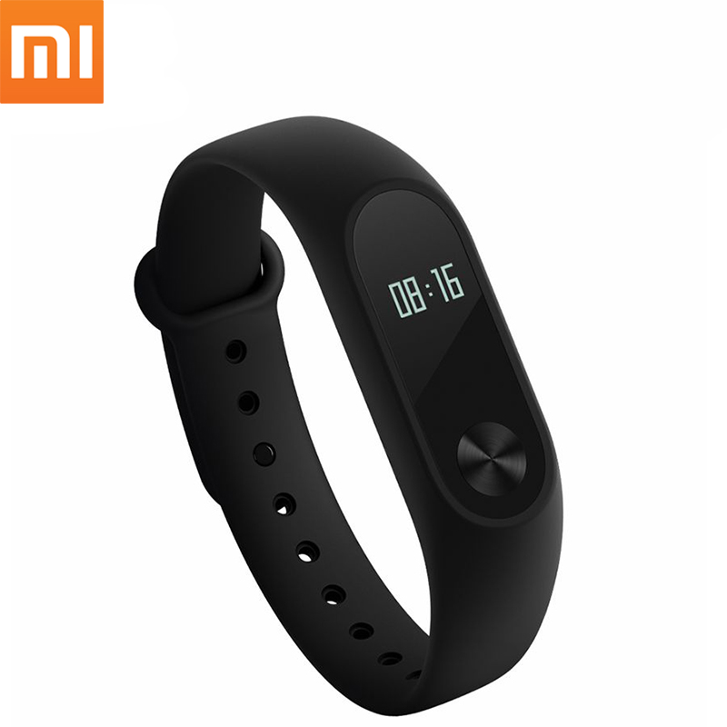 Xiaomi Mi Band 2 Miband Mi Band2 Braccialetto IP67 Impermeabile Della Vigilanza Wristband Cardiofrequenzimetro Intelligente Inseguitore di Fitness OLED Touchpad