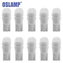 Oslamp 10PCS LED T10 W5W 194 168 Car License Plate Bulb Inte