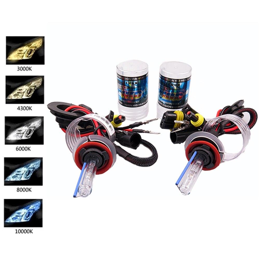 2PCS AUTO HID XENON BULB 55W 12V H1 H3 LAMP H27 H7 4300 3000 8000 h11 xenon 6000 12000 H8 5000,xenon h7