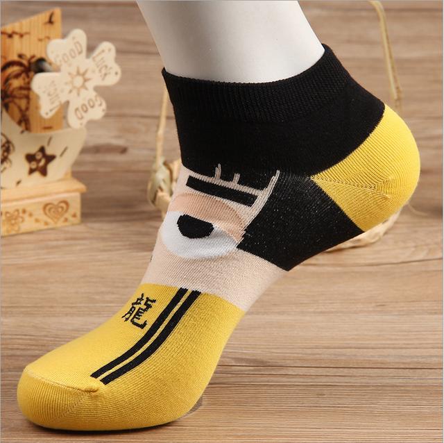 Unisex Funny Super Heroes Cotton Socks