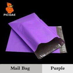 Фиолетовый цвет конверт почтовый мешок курьерской почтовой Экспресс поли почты по упаковке доставка Пластик посылка самоклеящиеся постав...