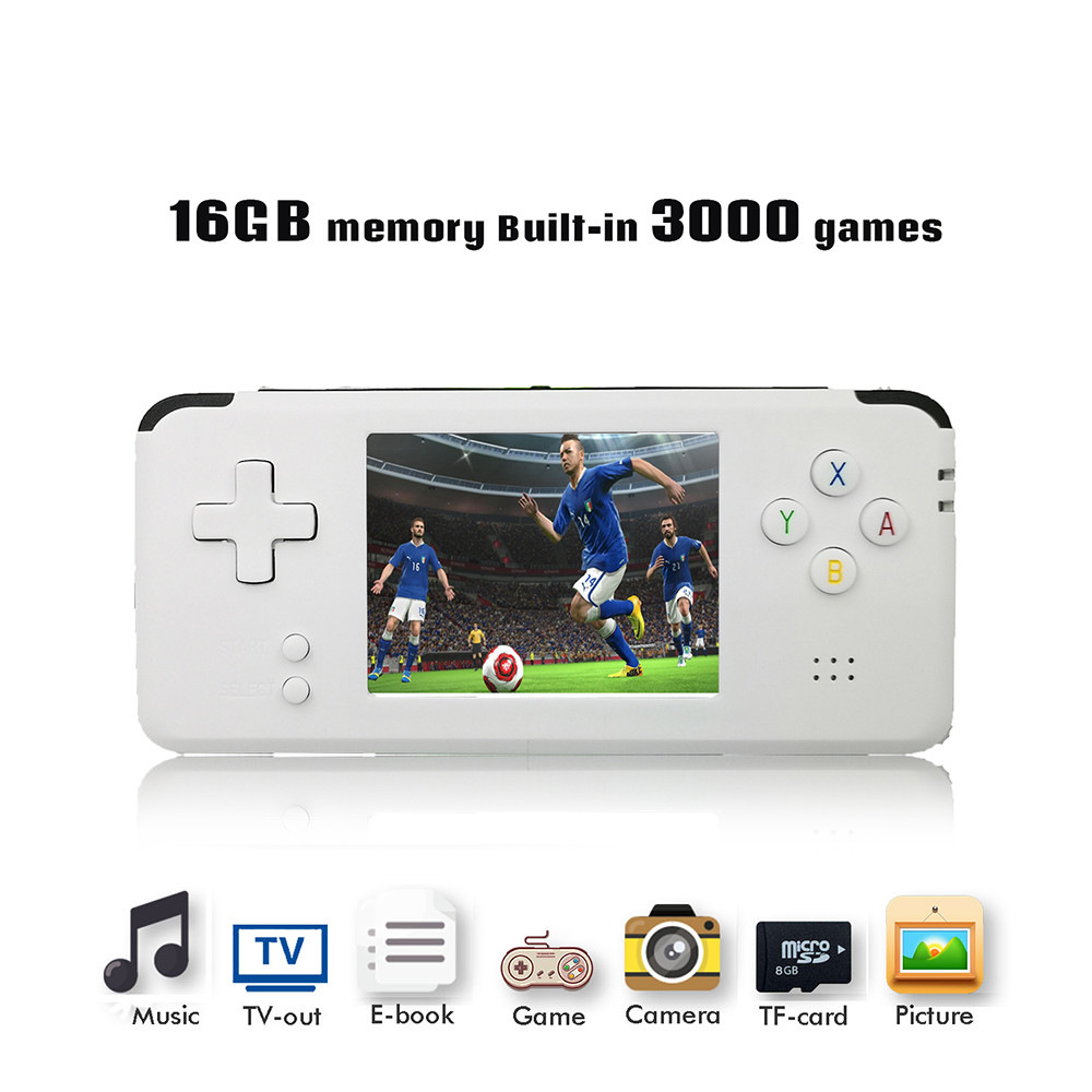 2018 Portable Video Handheld Game Console Retro 64 Bit 3 Inch 3000 Video Game Retro Handheld Console to TV RS-97 RETRO-GANE 07 цена